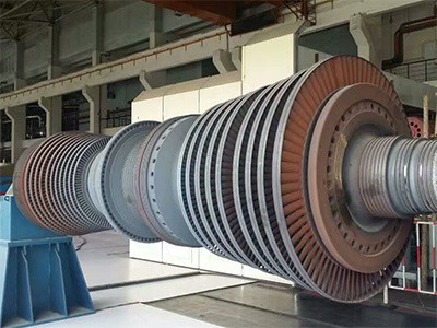 600MW Steam Turbine Rotor Maintenance