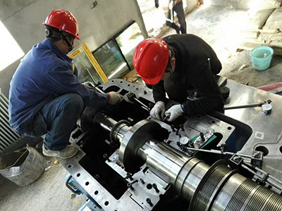 600MW steam turbine maintenance